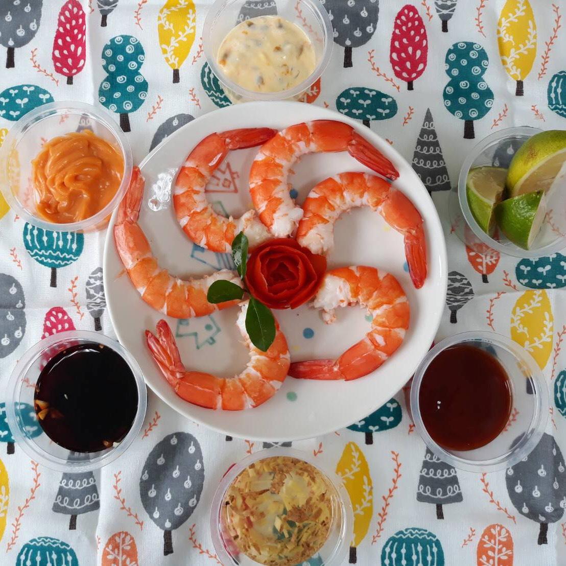 (團購價)泰國正統 21/25 限時網購宴會專用熟白蝦